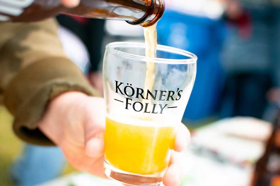 Oktoberfest at Korner's Folly features a variety of local craft brews