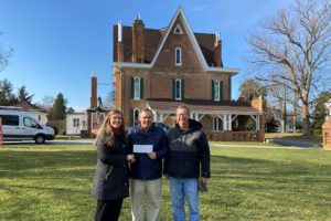 The Lawrence E. and Etta Lea Pope Foundation provide funding of the Community Room is part of a 1.5 million dollar fundraising effort that includes the construction of a 5,600 square foot Visitors Center at Körner's Folly,