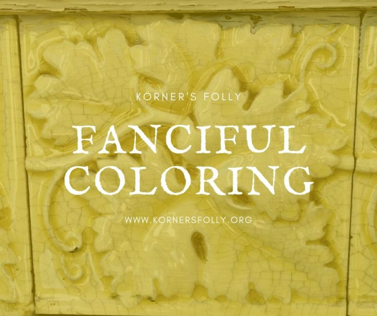 Korner's Folly Fanciful Coloring