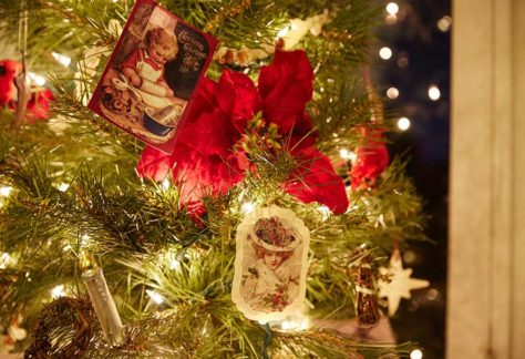 Christmastime at the Folly is time for Victorian-inspired decorations to shine